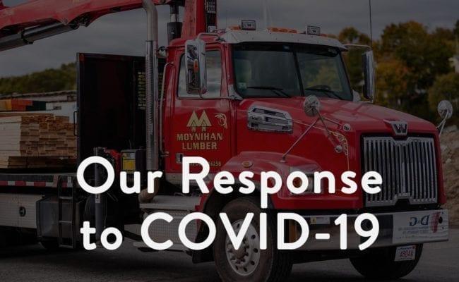 Moynihan's Response to COVID-19